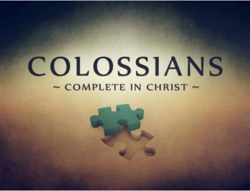 WED 7PM COLOSSIANS